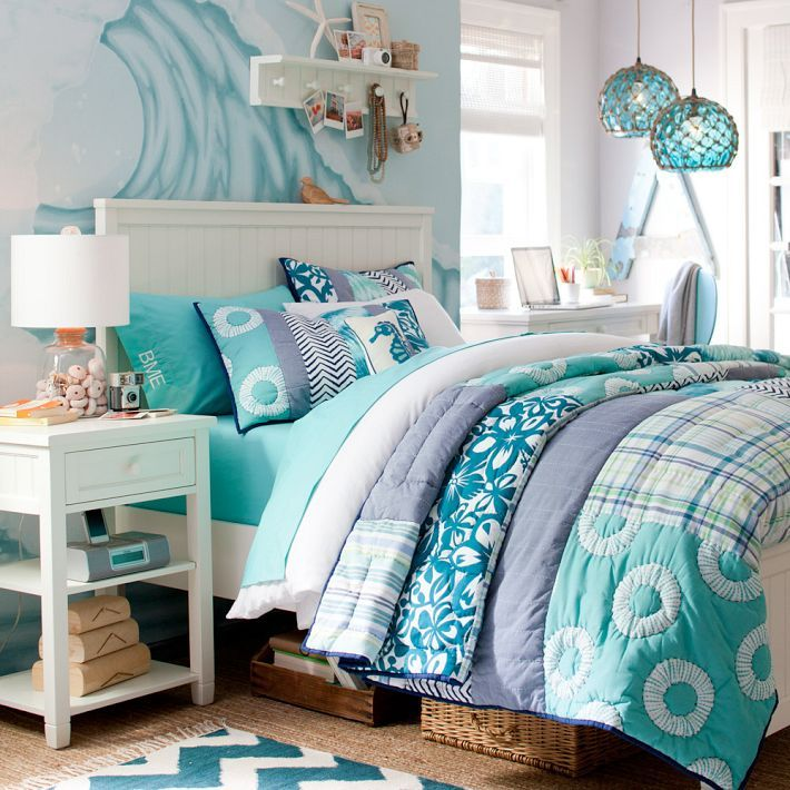 Beadboard Nightstand Ocean Bedroom Coastal Bedrooms