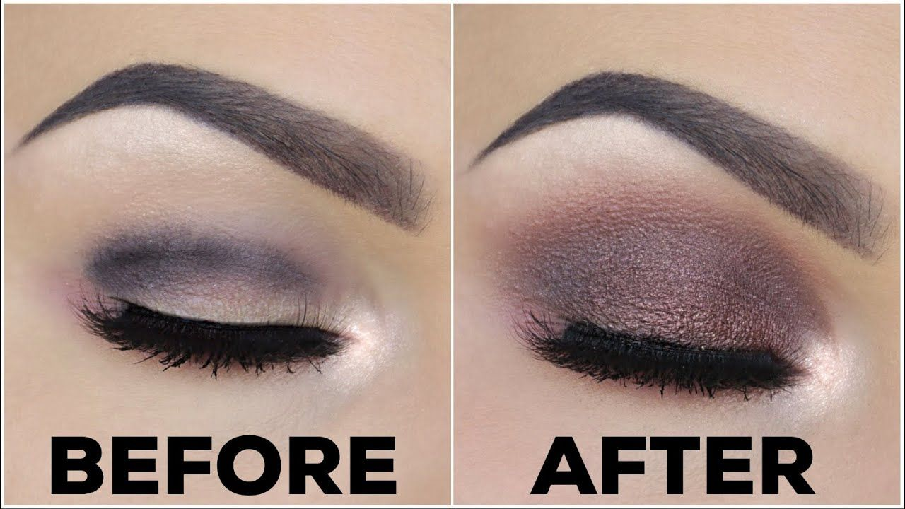 HOW TO FIX PATCHY EYESHADOW!!  MAKEUP QUICK TIPS!! - YouTube