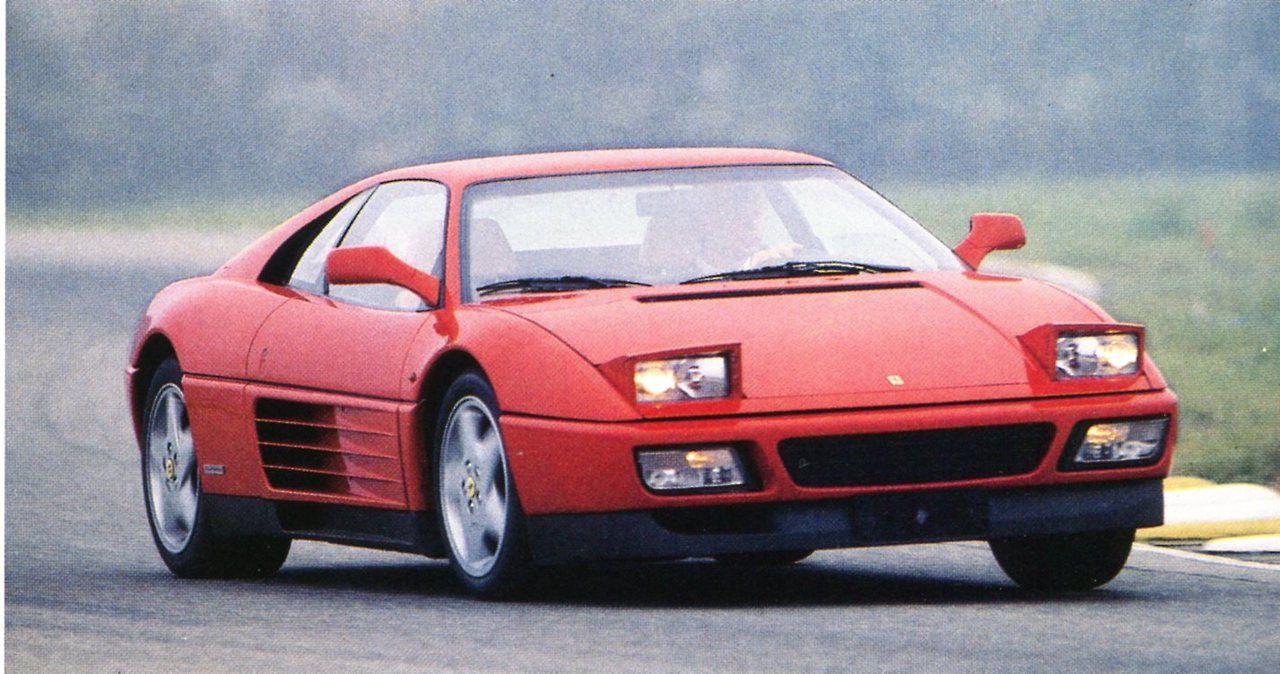 Ferrari 348 tb pininfarina 1989 automobiles classiques d cembre 1989 janvier 1990