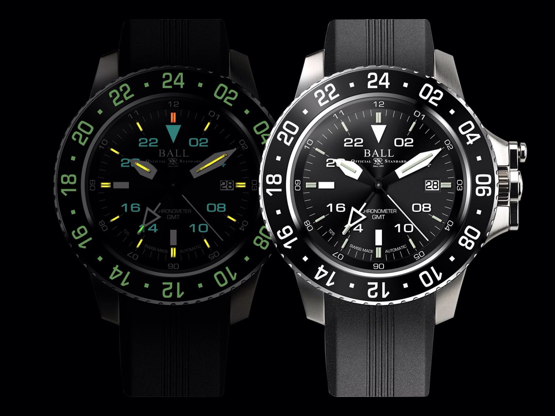 Ball Watch Engineer Hydrocarbon Aero GMT With Micro Gas