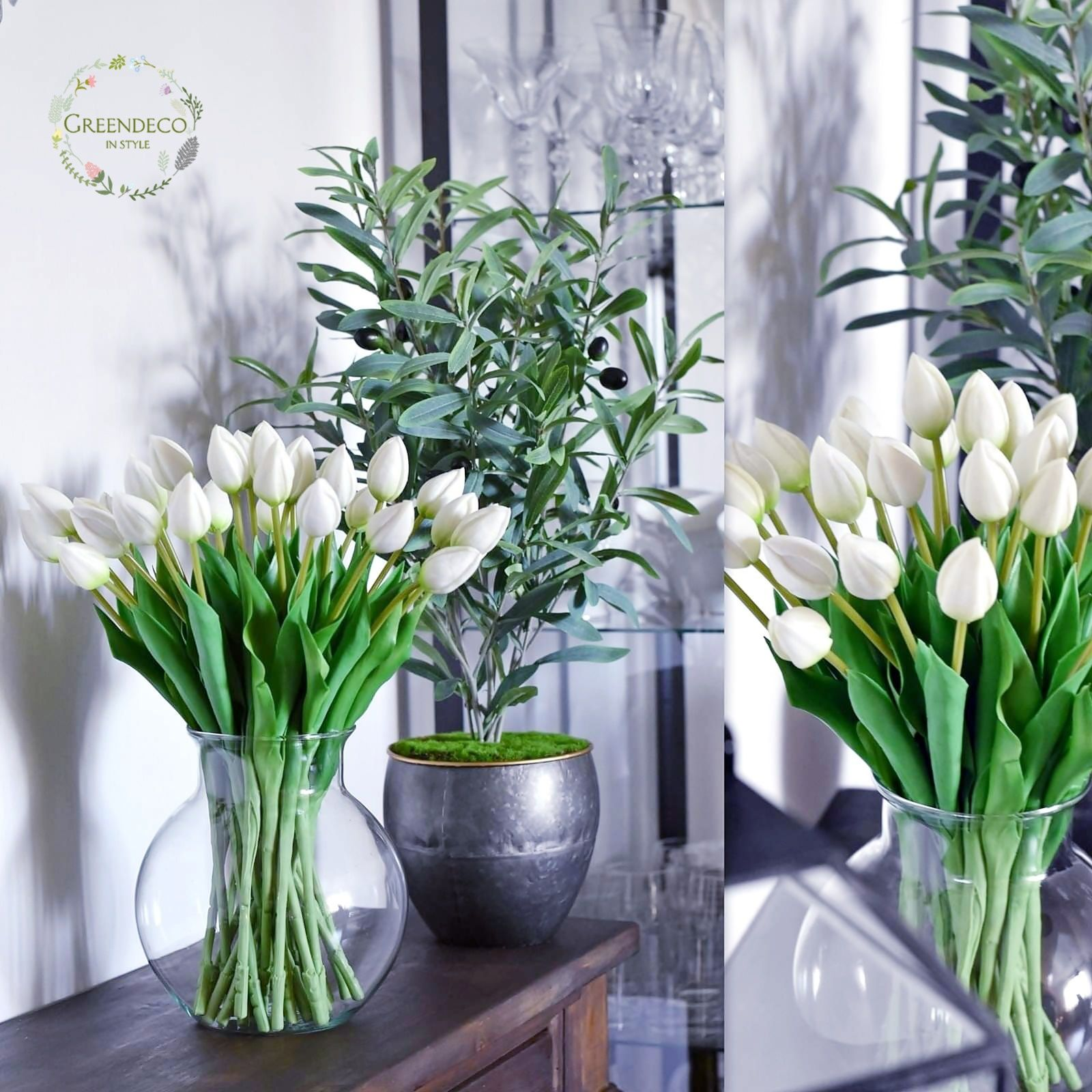 Tulipany Silikonowe Artificial Flowers Silk Flower Flowers Artificial Flowers Silk Flowers