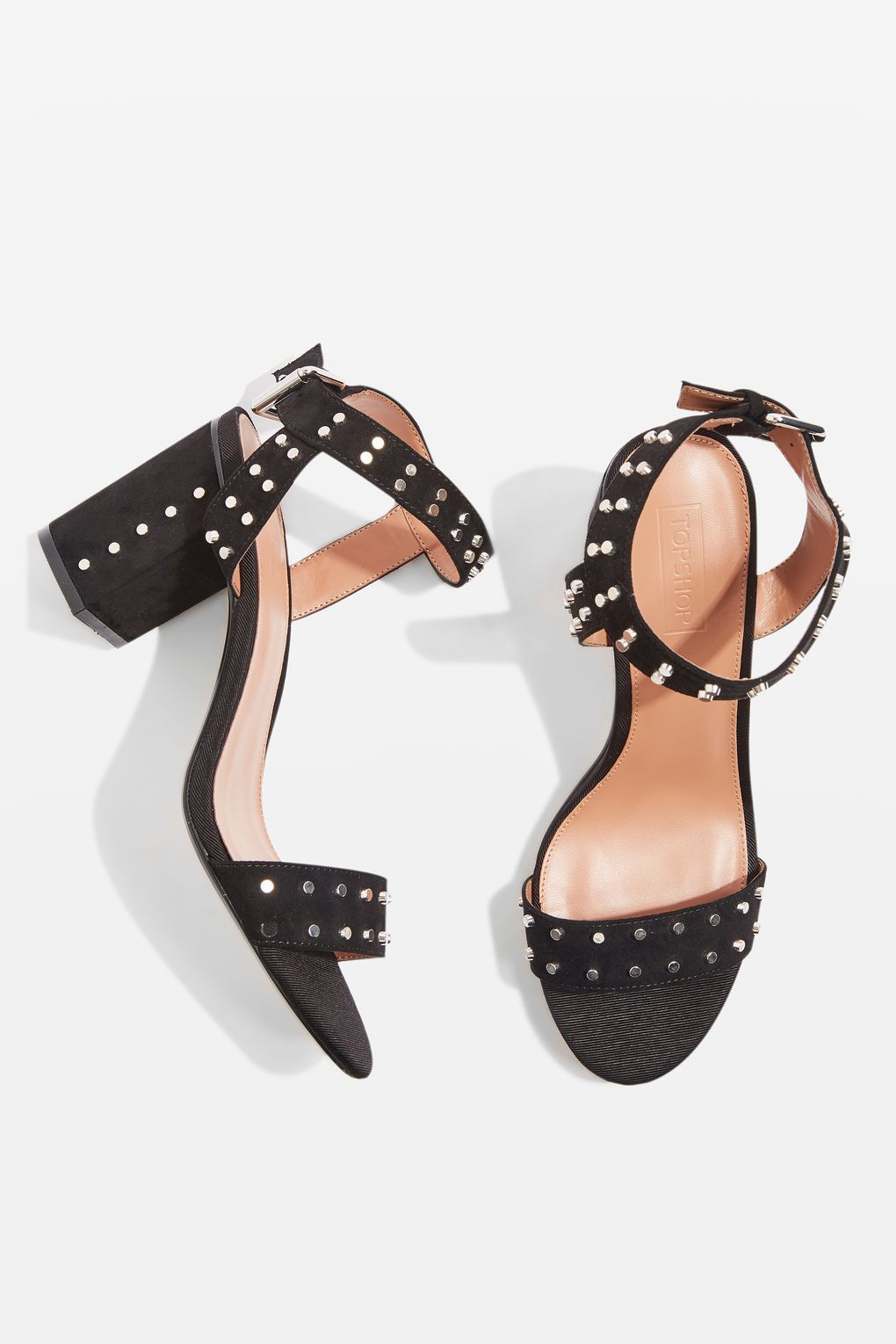 MOROCCO Studded Heeled Sandals