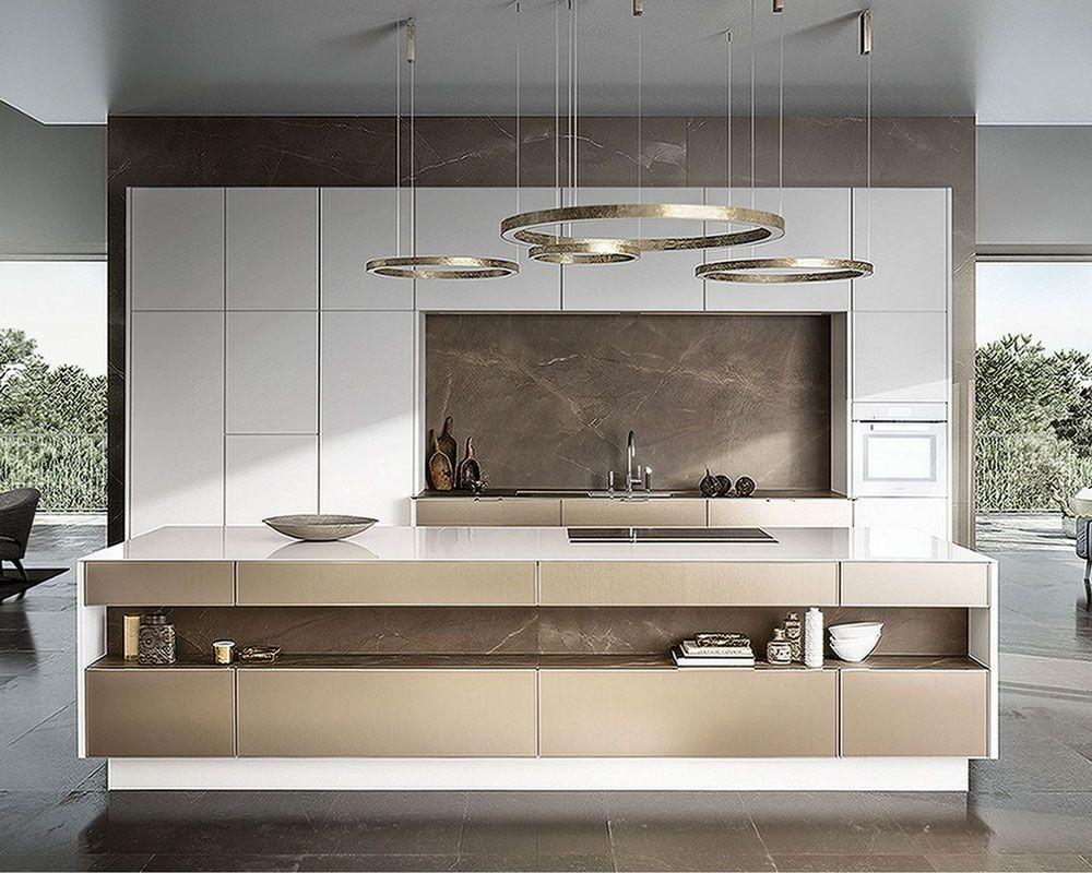 עיצוב מטבח מודרני עם אי http://www.zohara-klein.co.il ...