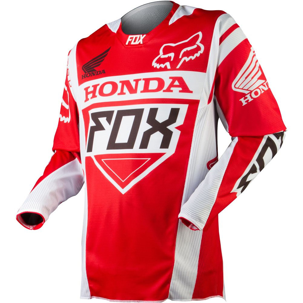 Apparel Fox Racing Off Road Jerseys Men 360 Honda Red Jpg 1001