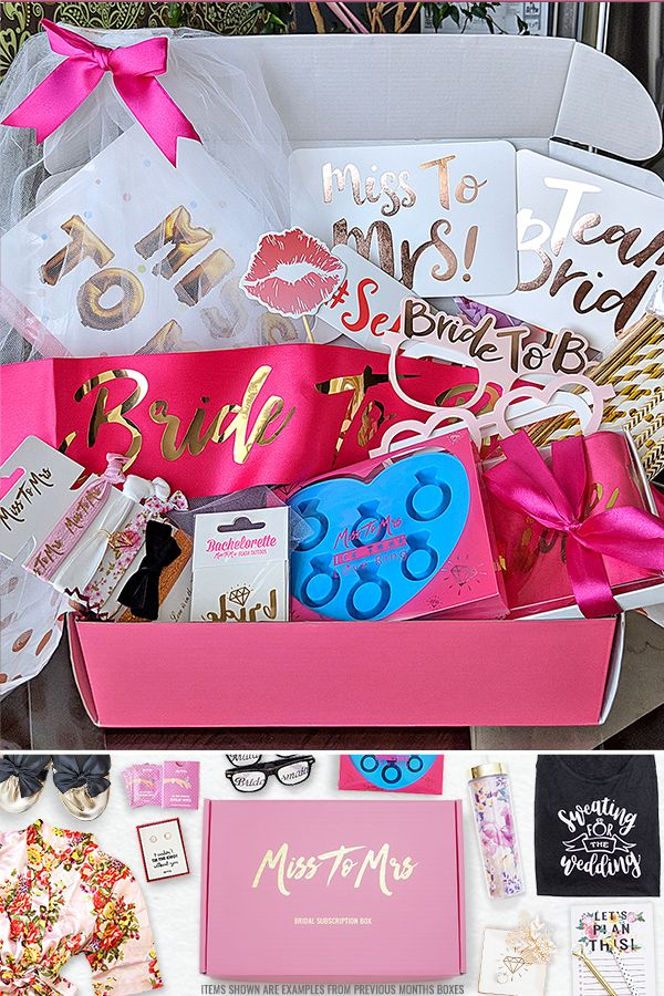 Best Subscription Boxes 2020.Subscription Box For Brides To Be Monthly Box To Help You