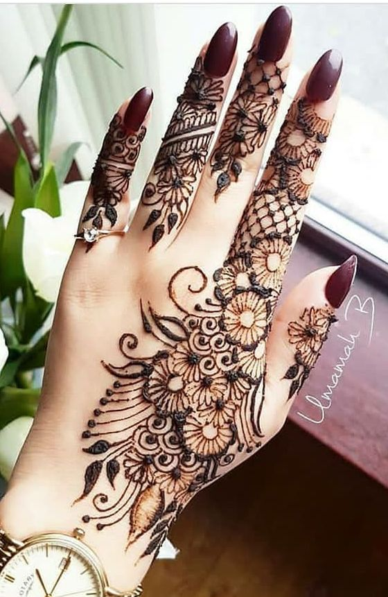 Pin By Rose Mary On Henna Designs Mehndi Designs For Fingers Mehndi Designs Feet Finger Henna Designs