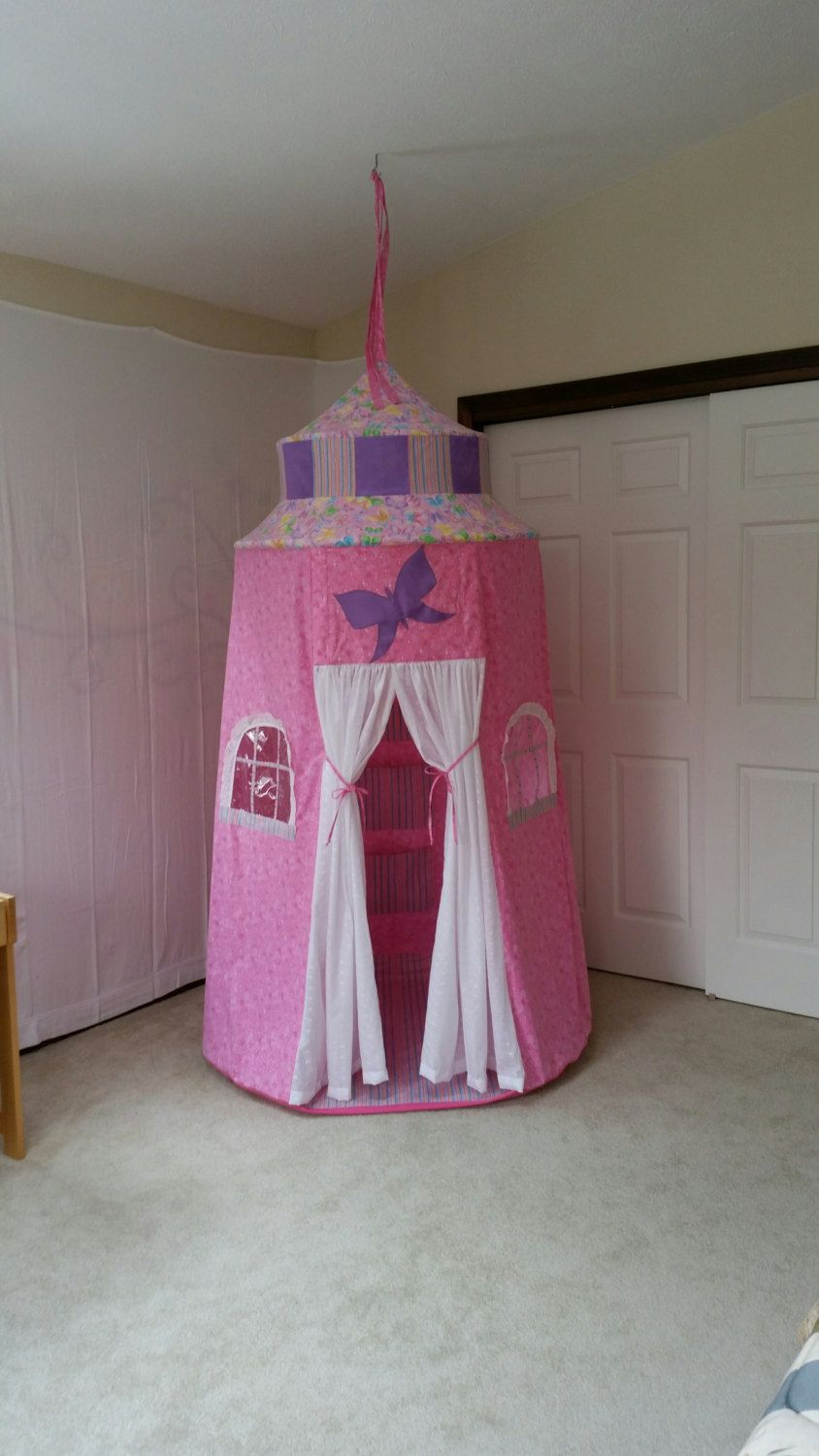 fairy princess castle butterfly palace pink castle tent princess castle girls room decor gifts for girls girls dressing room by suitedreamcreators on