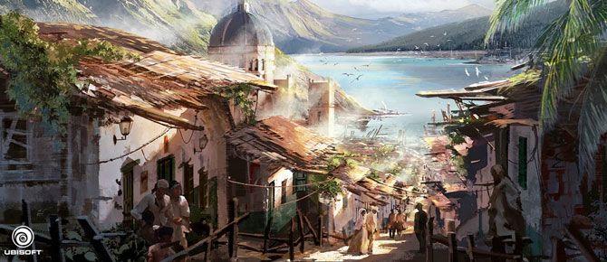 Assassin's Creed IV Black Flag, por Donglu Yu