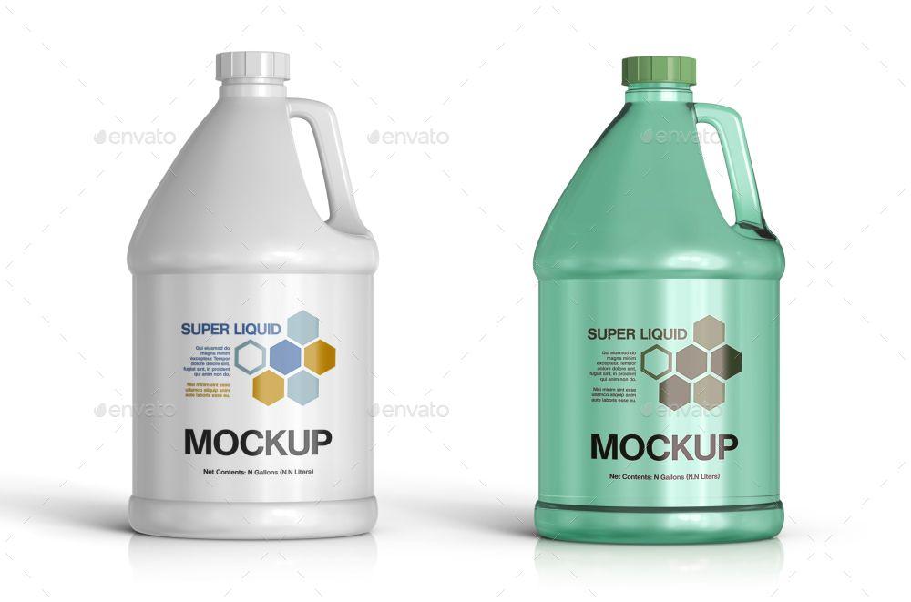 5 Plastic Jug Gallon Mockups Plastic Jugs Recycle Plastic Bottles Softener Bottle