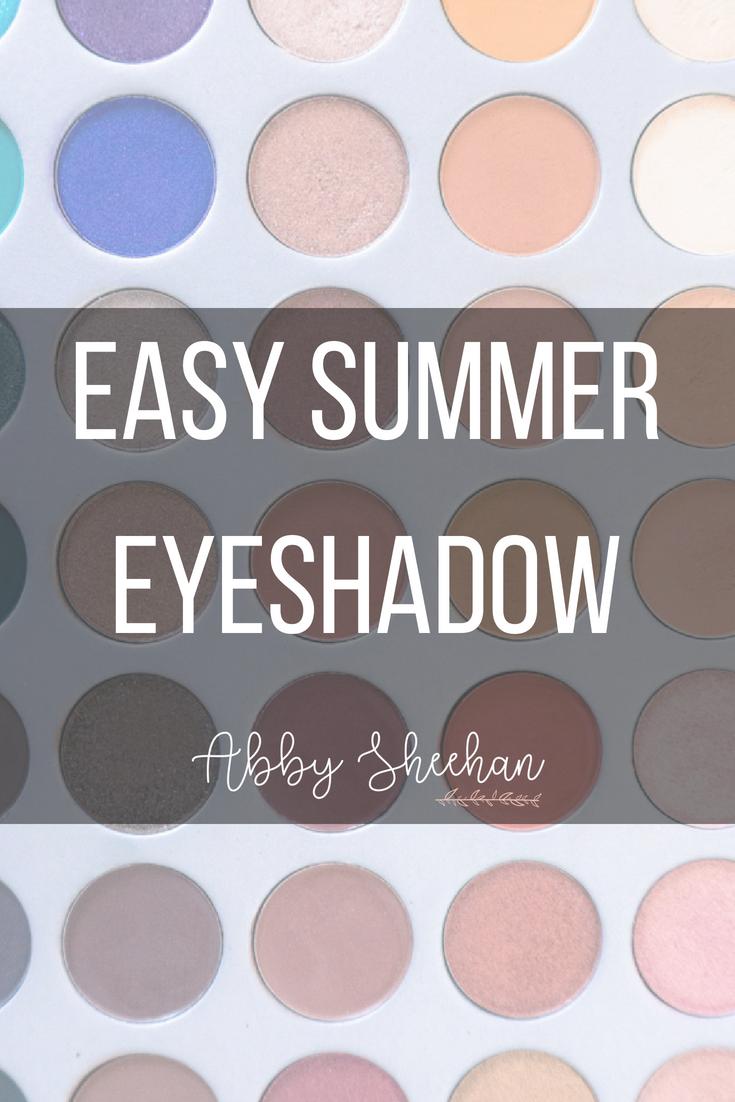 Summer Eyeshadow Routine Simple & Easy Steps Summer