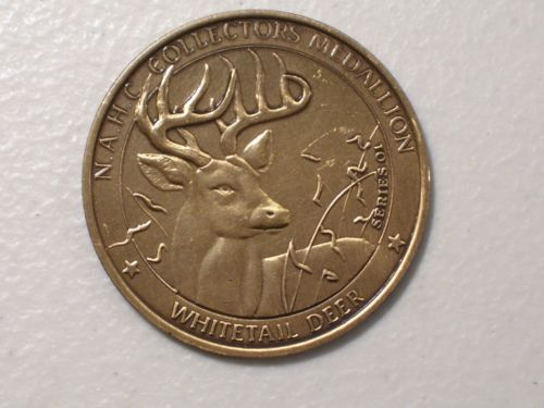 North American Hunting Club Big Game Series Collectors Medal Eagle Whitetail | eBay