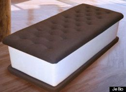What fun! Ice cream sandwich storage bench  My son has been harassing me for one of these.   :)