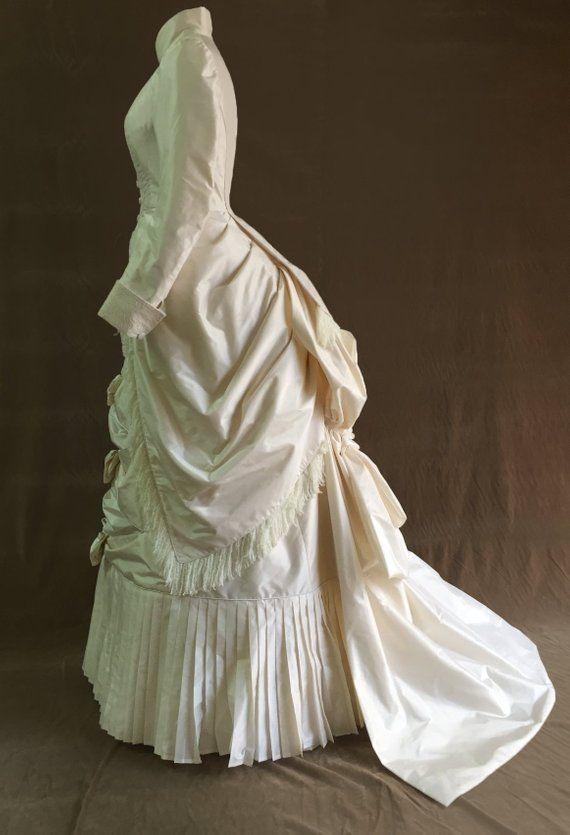 Victorian dress- 1880 day dress