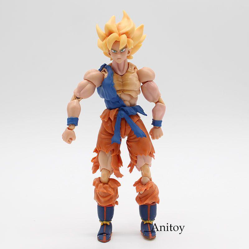 Dragon Ball Z SHFiguarts Vegito Son Goku PVC Action Figure Collectible Model Toy