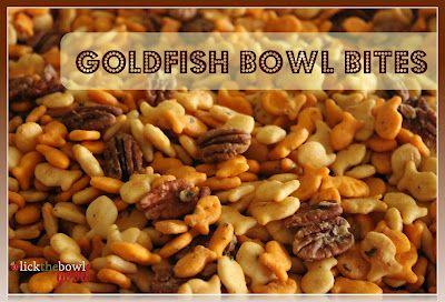 Gold Fish Bowl Bites