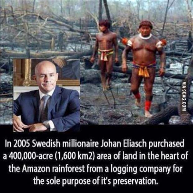 Johan Eliasch -faith in humanity restored