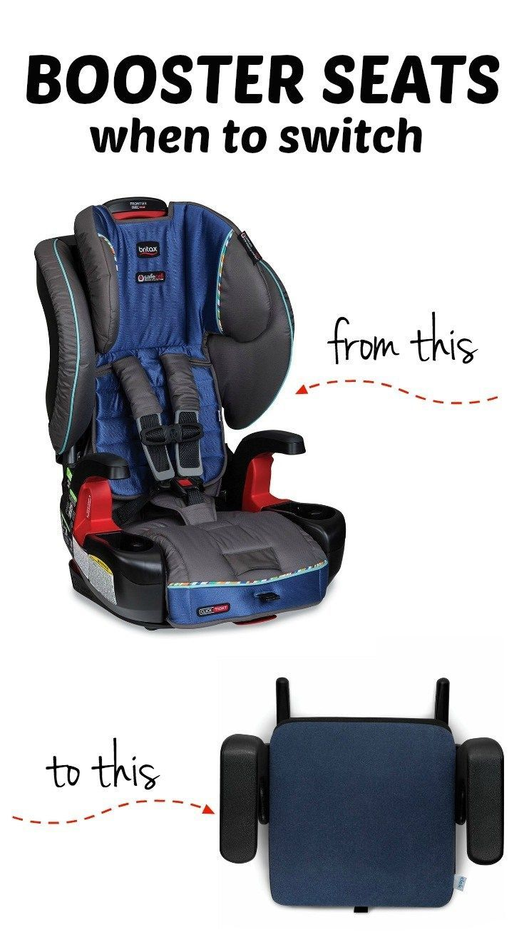Car seat safety: When to switch from a harnessed booster seat to a