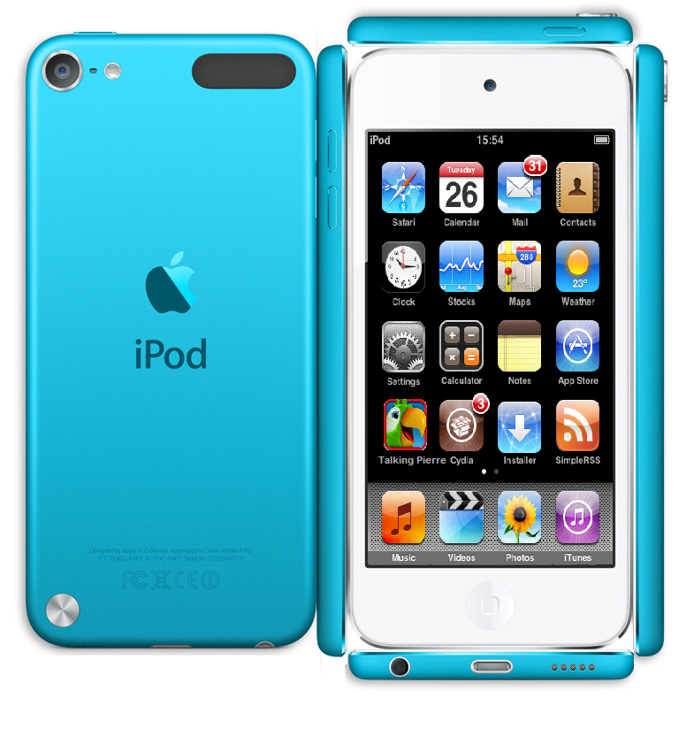 Paper Blue Ipod Touch Iphone Screen Repair Ipod Apple Ipod Touch