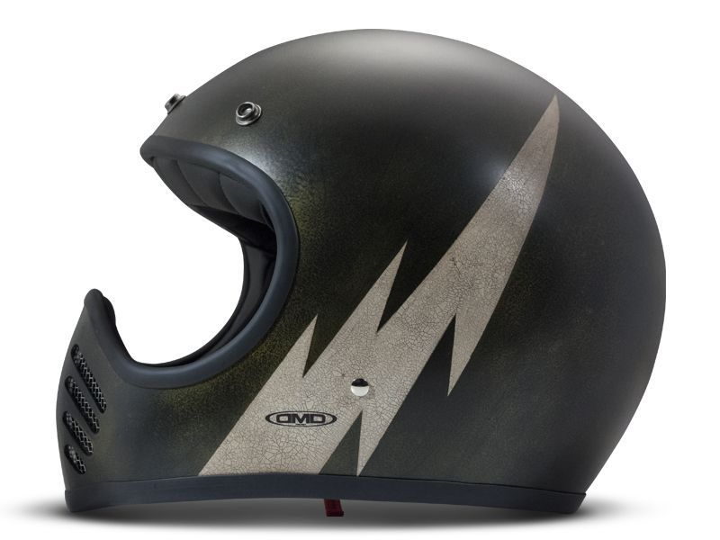 Dmd Seventyfive Handmade Double Retro Moto Cross Helmet With Ece 22 05 And Handmade Design Very Coo Retro Bike Helmet Motorcycle Helmet Design Retro Helmet