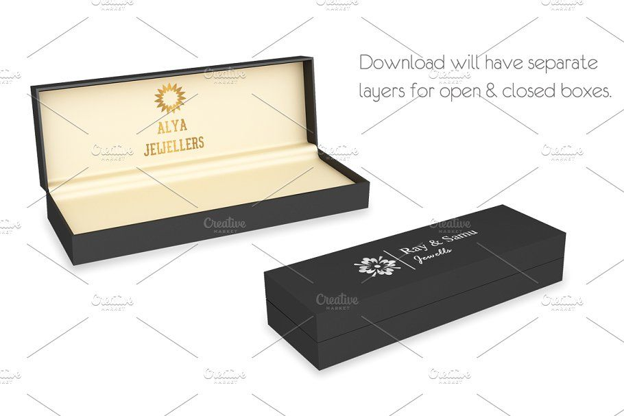 Download Jewelery Box Mockups Bundle Jewelery Box Box Mockup Jewelry Brand Logo