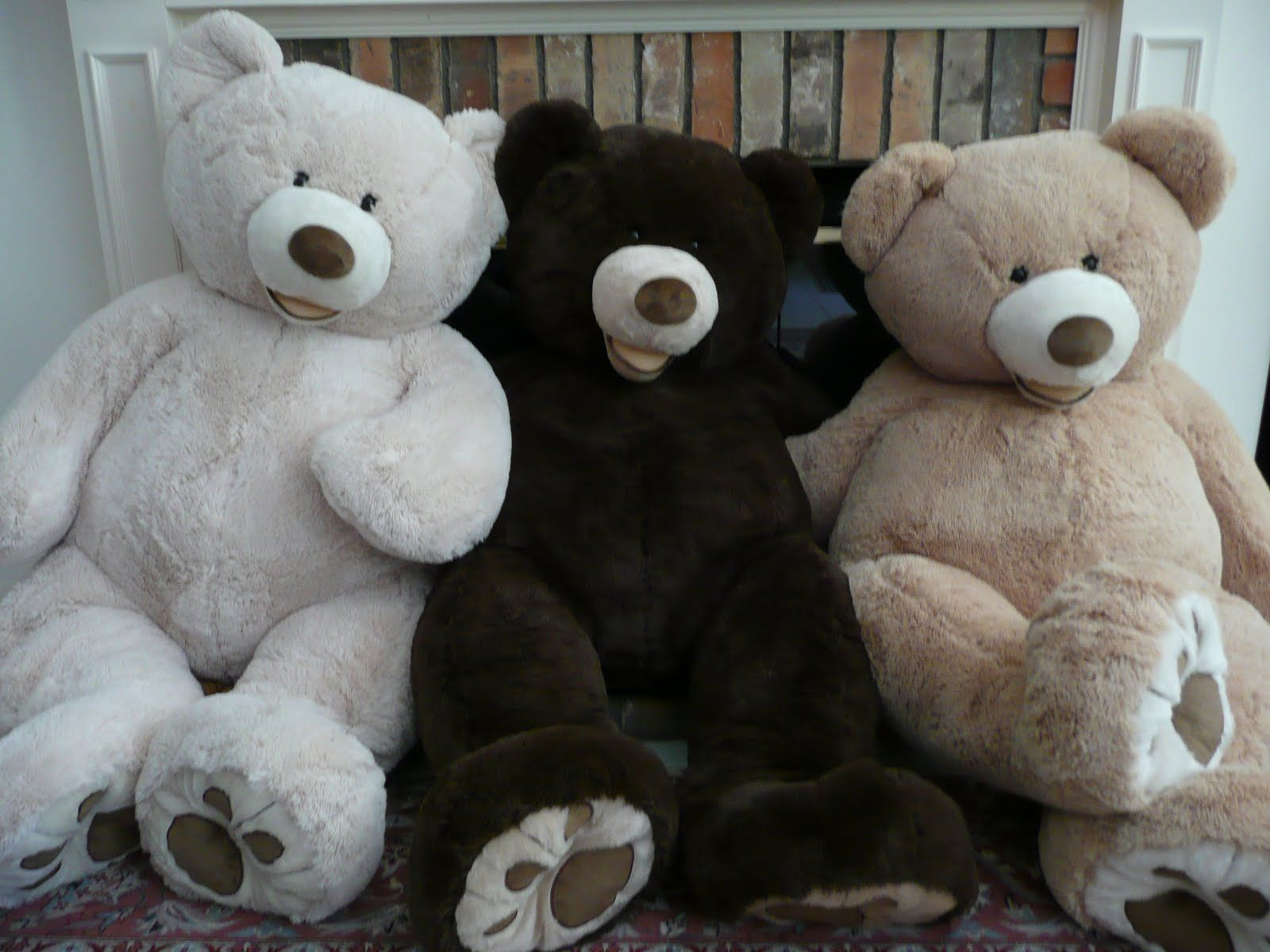 """PLUSH TOY SHELL WITH ZIPPER One pcs 99/""""//2.5m HUGE SUPER TEDDY BEAR ONLY COVER"""