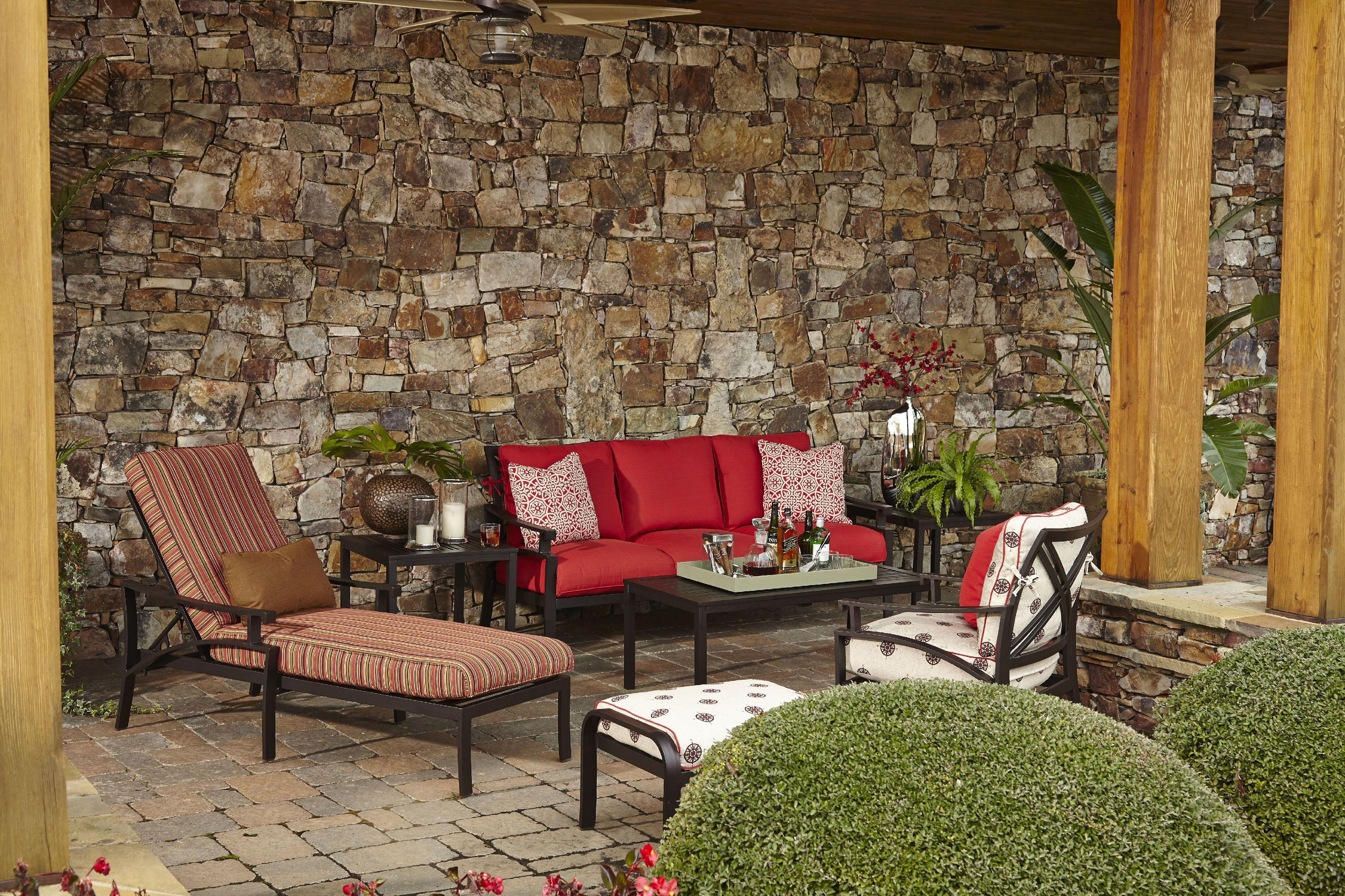 Klaussner Outdoor Outdoor/Patio Linder Chair W4100 CDR ...