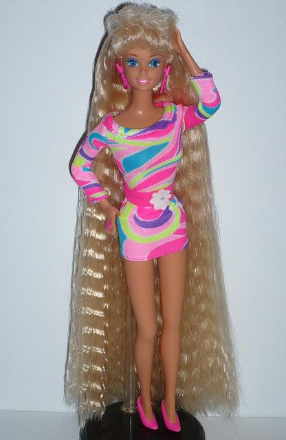 new lower prices hot product picked up hahaha I think i still have her... | Barbie années 80 ...