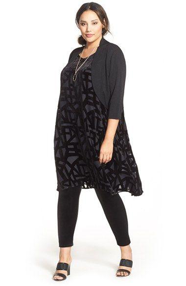 Eileen Fisher Shrug, Dress & Leggings (Plus Size) available at ...