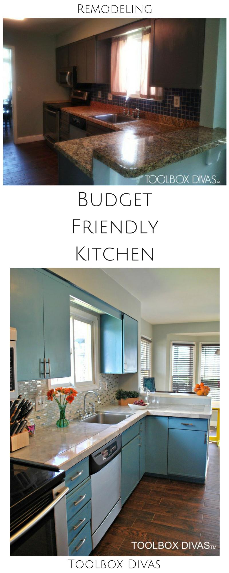 Budget Friendly Kitchen Remodel Budget Friendly Kitchen Remodel Kitchen Remodel Countertops Kitchen Remodel