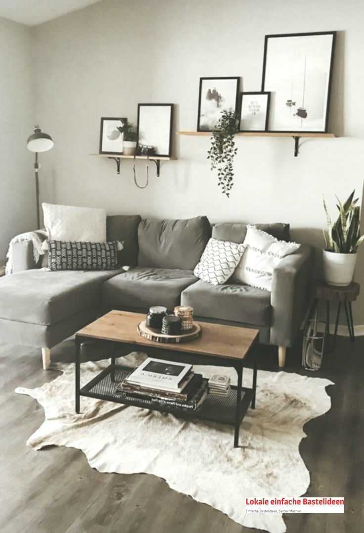 Wohnkultur Wohnung Dekoration Wohnzimmer Ideen Klein Wohnen