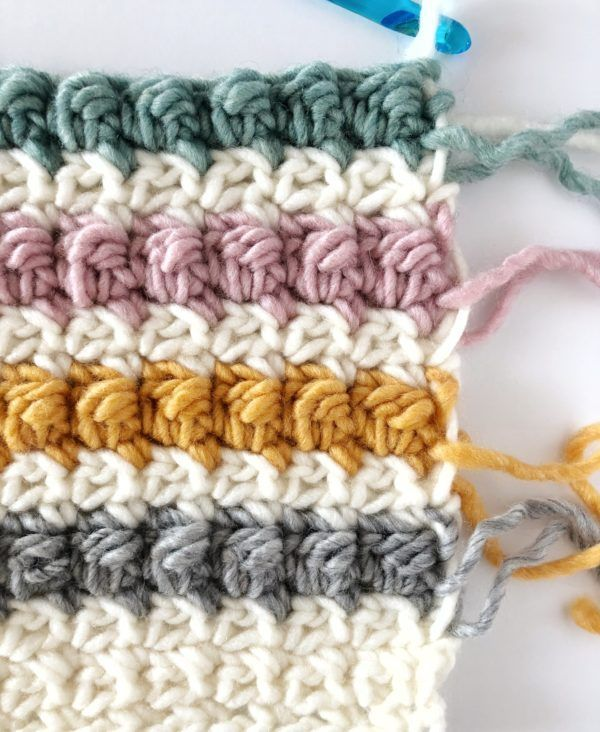 The Even Berry Stitch is a variation of a cluster stitch. Or, could ...
