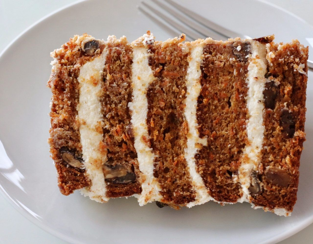 Carrot cake with cream cheese frosting creative home cooking with carrot cake with cream cheese frosting creative home cooking with theresa visintin cooking simple delicious and creative food easy recipes for the forumfinder Images