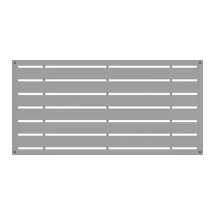 Stratco 6 Ft H X 8 Ft W Quick Screen Metal Fencing Wayfair In 2020 Decorative Screen Panels Fence Panels Decorative Screens