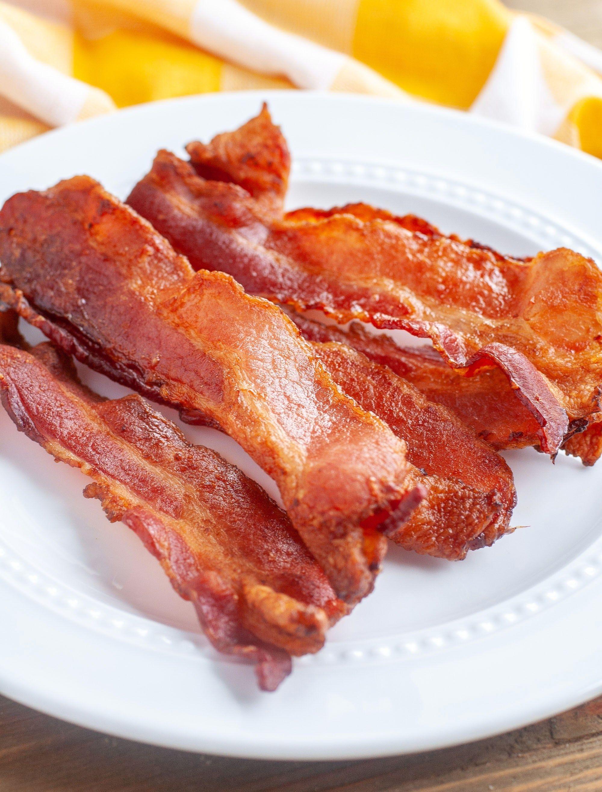 Air Fryer Bacon in 2019 Air fryer recipes bacon, Air