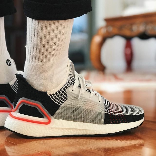 10a90c117 n foot look at the adidas Ultra Boost 19. I prefer a snug fit because the  Primeknit 360 feels great and you can t go wrong with 20% more