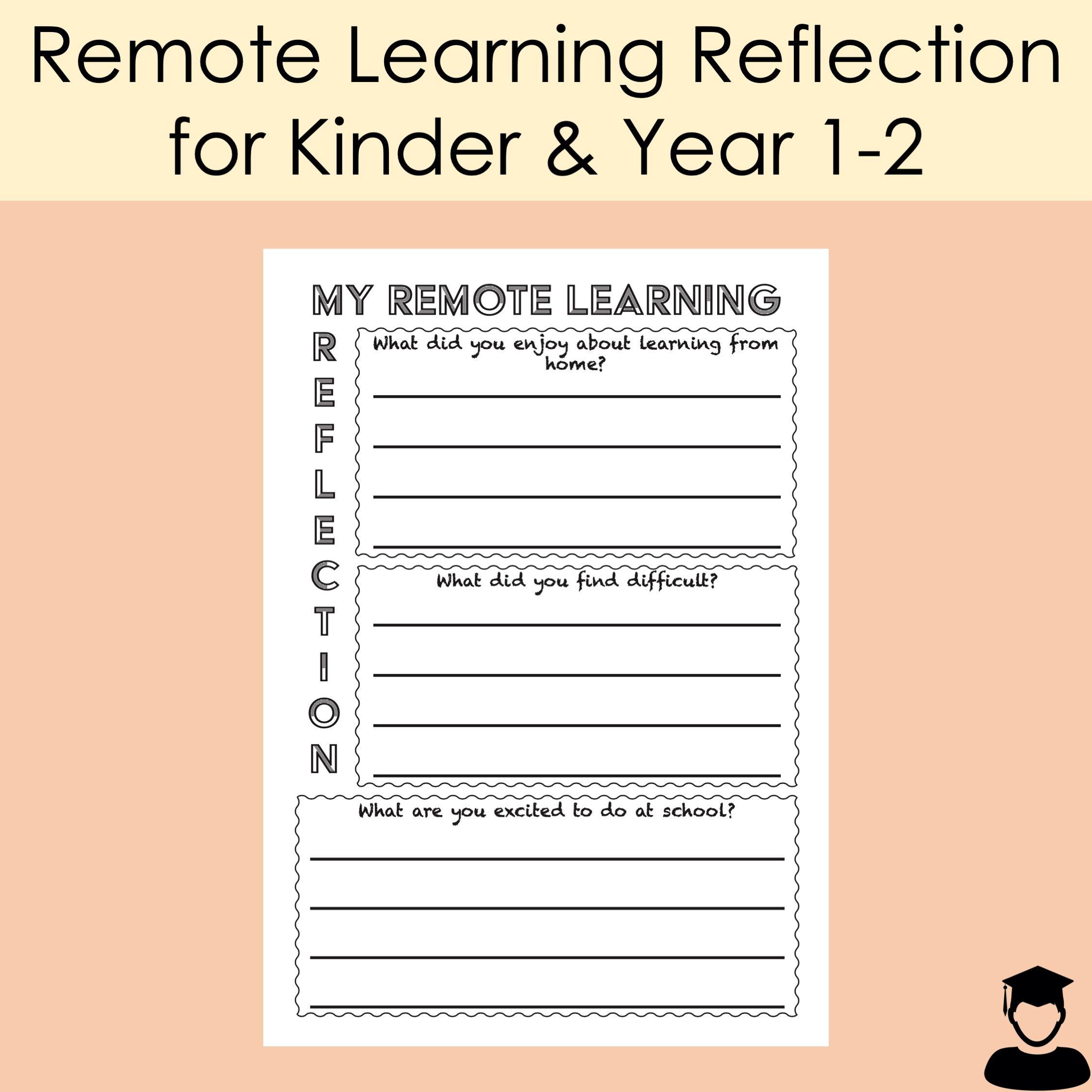 Remote Learning Reflection Victoria Australia Home Learning Student Reflection Learning [ 2249 x 2249 Pixel ]