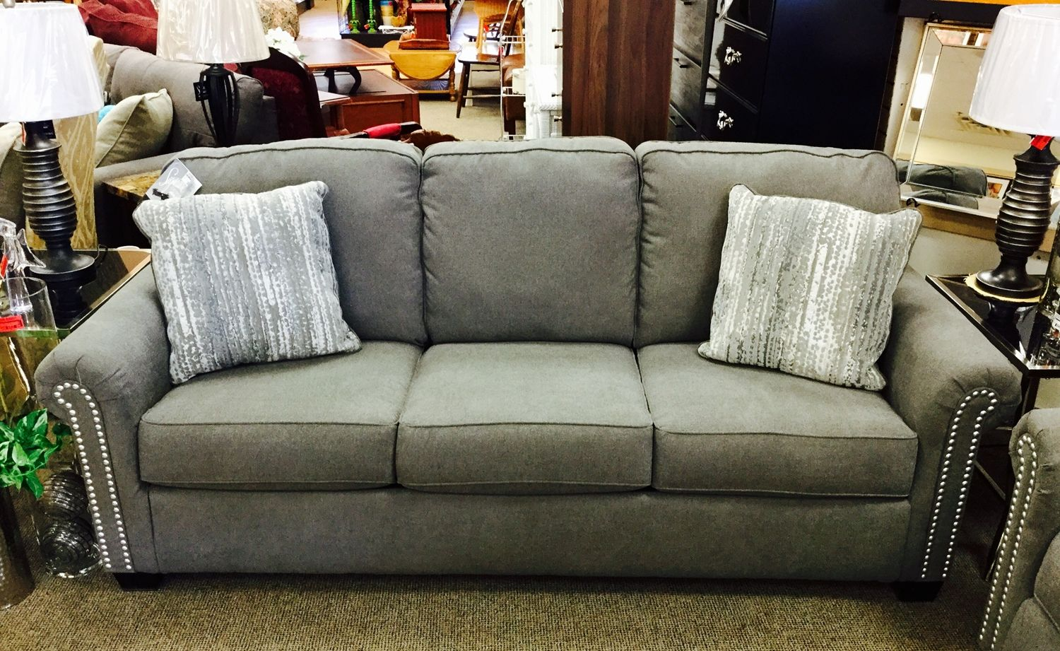 3 Days Left To Save 20 Off All New Gently Used Sofas Pay Only 344 For This Brand Gilman Sofa From Ashley Furniture Through Sunday