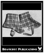 Vintage 1950s Spats Pattern