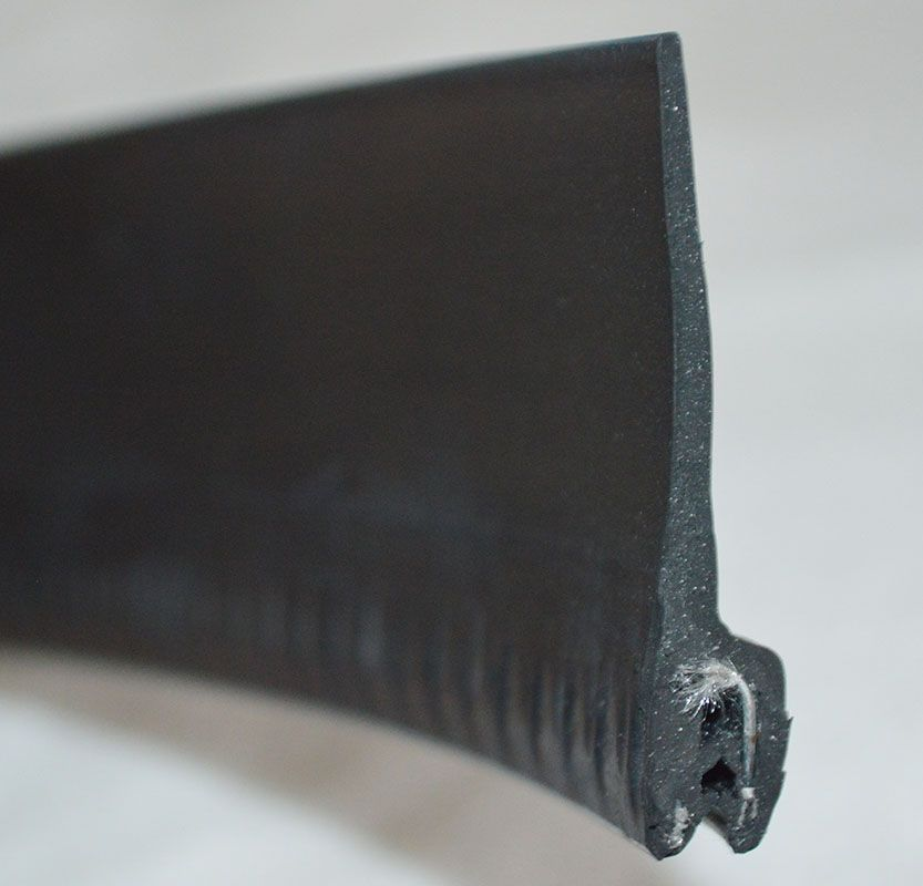 Extruded Rubber Seal Strip With Metal Or Fabric Insert Are Available P Shape D Shape L Shape T Shape H Shape U Channel Tubin Rubber Extrusion Automotive