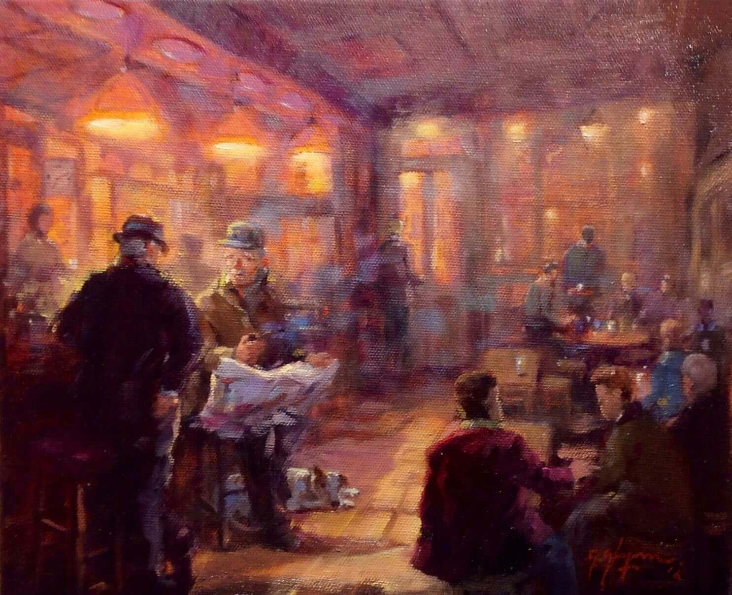 'Full House, Duke of York, Belfast, by Gerry Glynn.