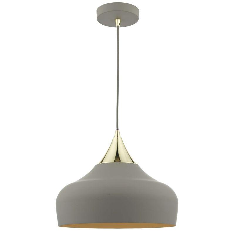 Orla Single Pendant Light Charcoal Kitchen