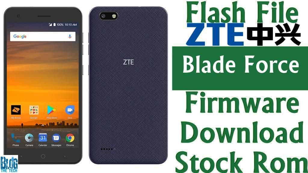 Firmware] ZTE Blade Force N9517 Stock Rom Download [Flash File
