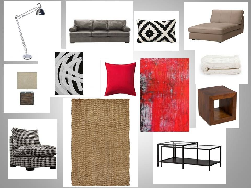 Superb Black, White, Red And Splashes Of Natural Elements Were On This Clientu0027s  Wish List For The Family Room. Home Decor. Home Decoration. Home Styling. E  Decor