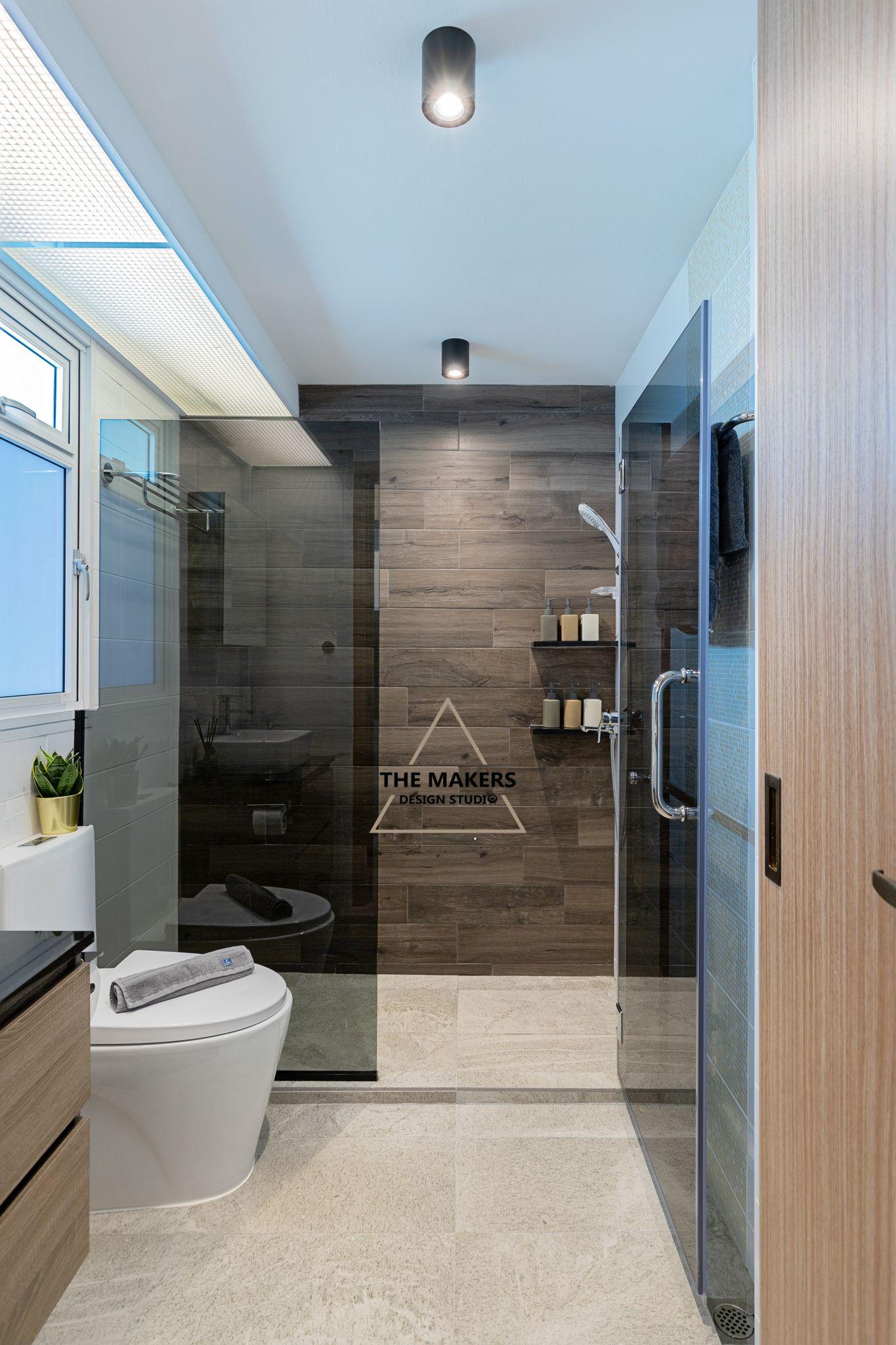 Bathroom by The Makers Design Studio SG. | 2-Room HDB BTO West Terra ...
