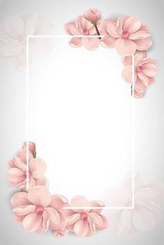 Pink Vector Beautiful Wedding Photography Poster B