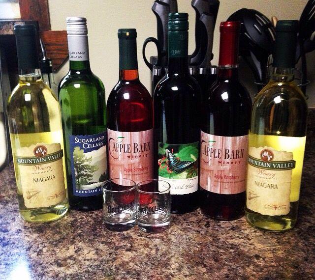Rocky Top Winery Apple Barn Winery Wine Bottle