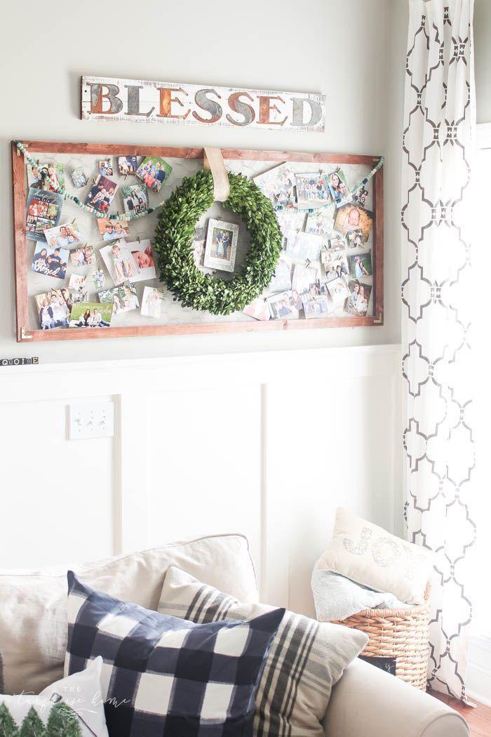 Photo of Magnolia Wreath Christmas Mantel Decor | The Turquoise Home,  #Christmas #decor …