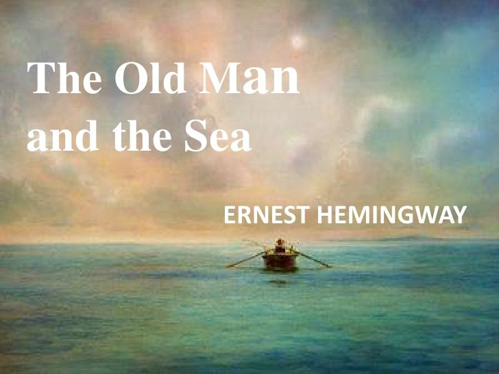 The Old Man And Sea Ernest Hemingway Thing Essay Writing Competition