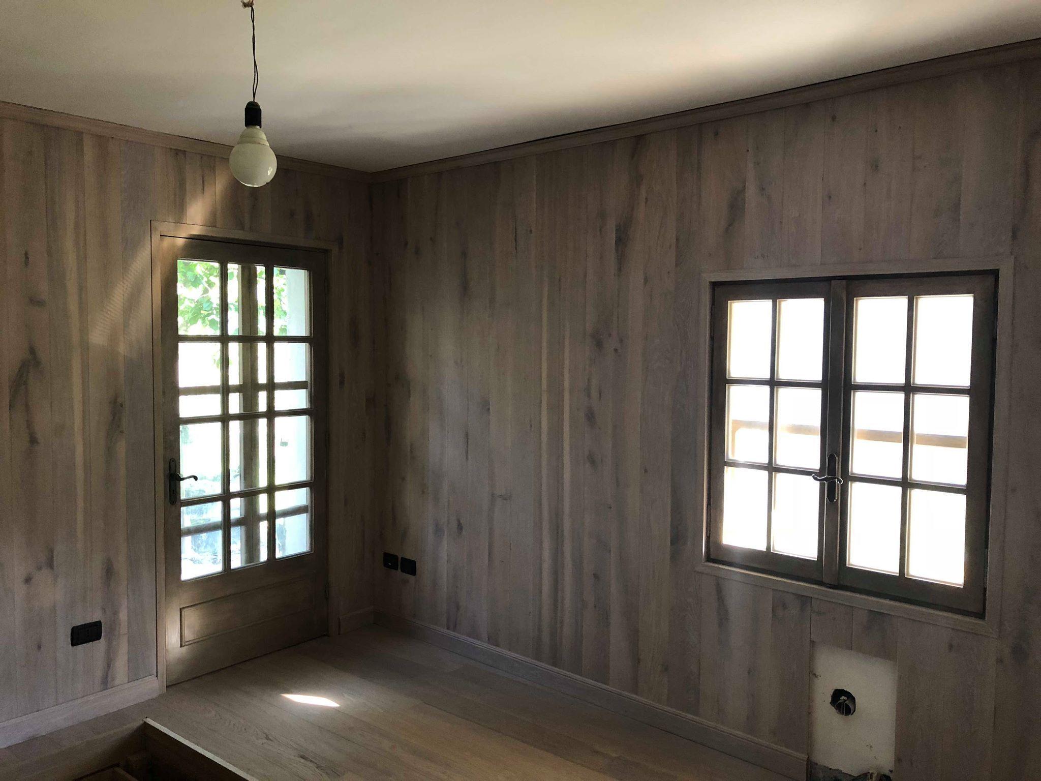 Camera Da Letto Con Boiserie : Camera da letto con armadio a ponte letto con cassetti preti
