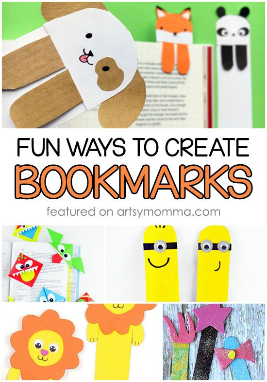 Do it yourself bookmarks for crafty kids bookmarks create and crafts do it yourself bookmarks for crafty kids solutioingenieria Image collections